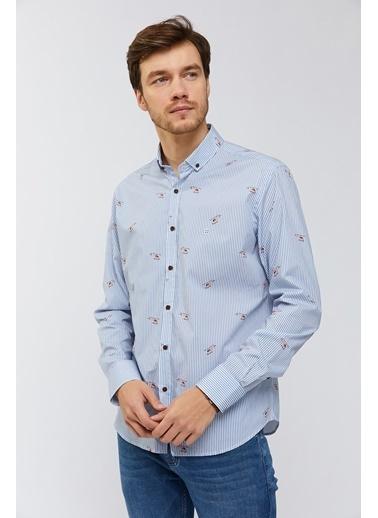 Avva Erkek   Gömlek A91Y2030 Mavi